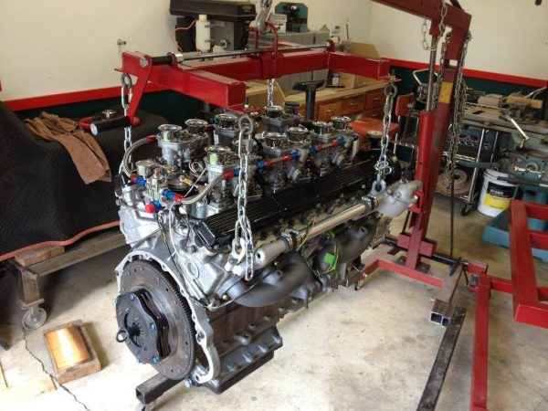 Jaguar Engine Leveler